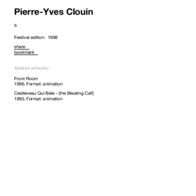 Pierre-Yves Clouin | transmediale.pdf