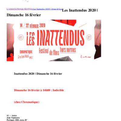 Les Inattendus 2020 _ Dimanche 16 février _ Les Inattendus.pdf