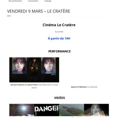 Vendredi 9 Mars – Le Cratère | Traverse Vidéo Édition 2018.pdf
