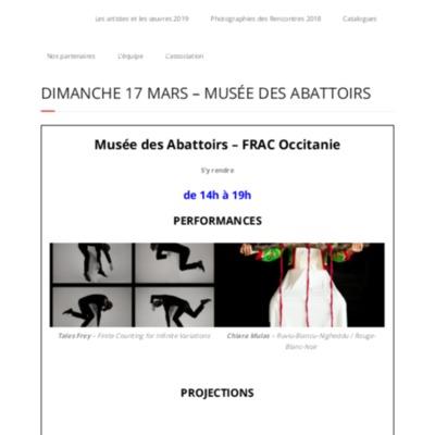 Dimanche 17 mars – Musée des Abattoirs – Traverse Vidéo Édition 2019.pdf