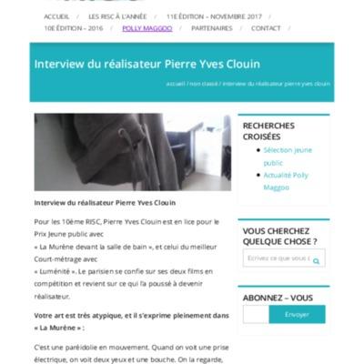 Interview du réalisateur Pierre Yves Clouin – Festival RISC.pdf